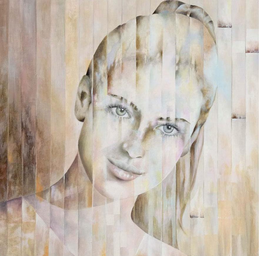 volto pierangela franzoni artista pittura pontoglio brescia